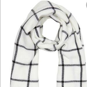 Aldo windowpane blanket scarf